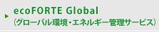 ecoFORTE Global(グローバル環境・エネルギー管理サービス)