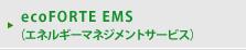 ecoFORTE EMS(エネルギーマネジメントサービス)